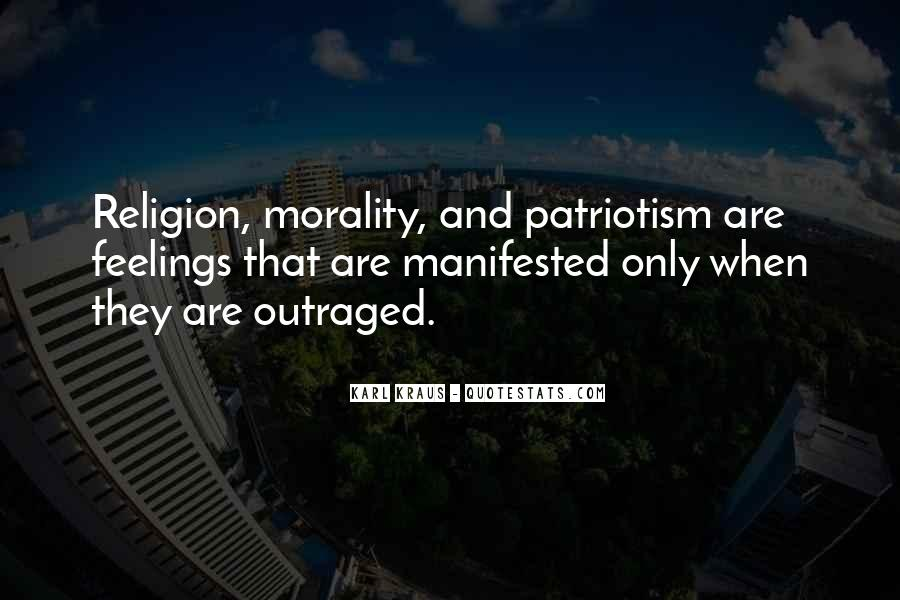 Quotes About Morality Without Religion #592829