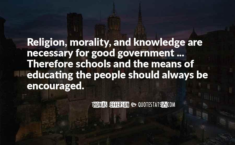 Quotes About Morality Without Religion #625285