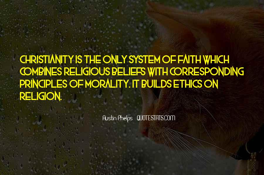 Quotes About Morality Without Religion #674592