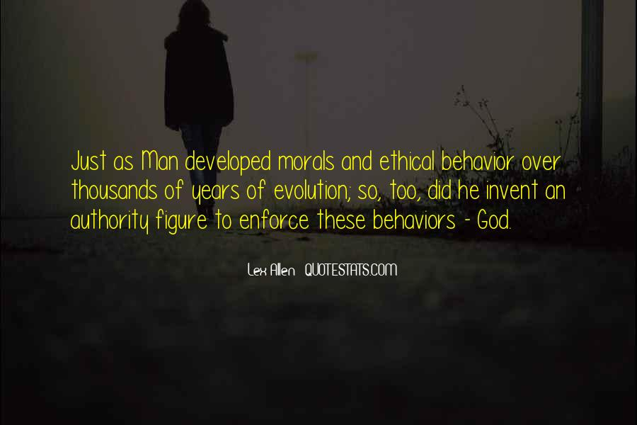 Quotes About Morality Without Religion #703530