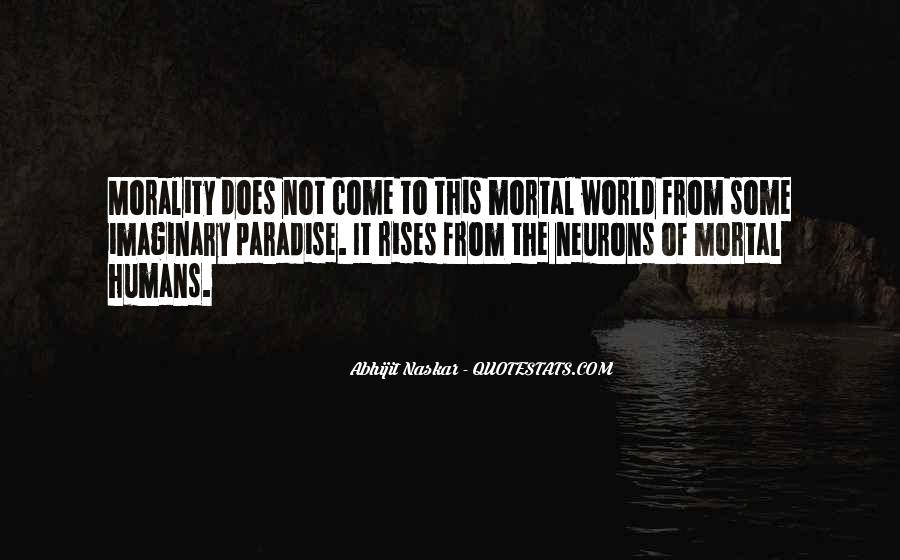 Quotes About Morality Without Religion #878727