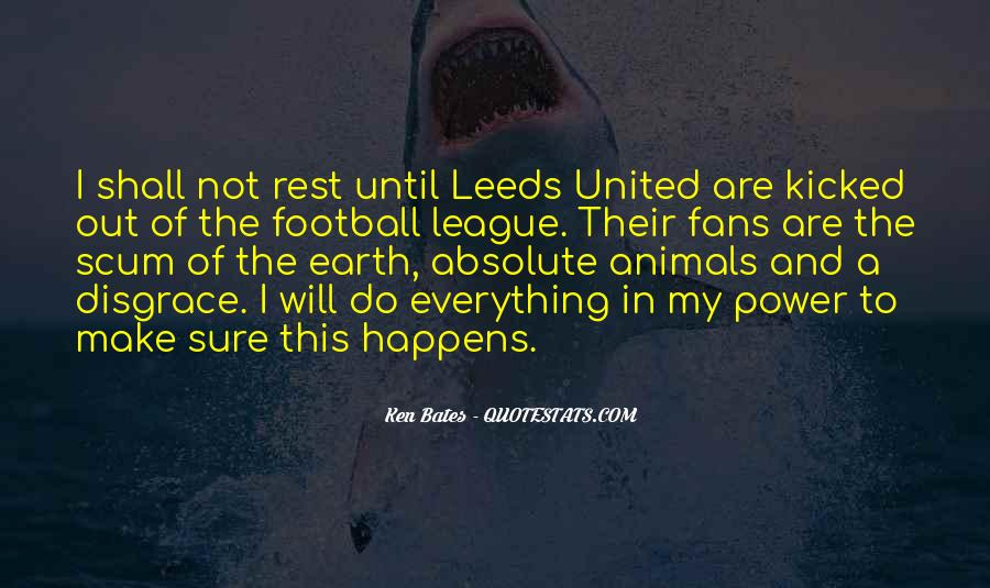 Quotes About Leeds United #707598