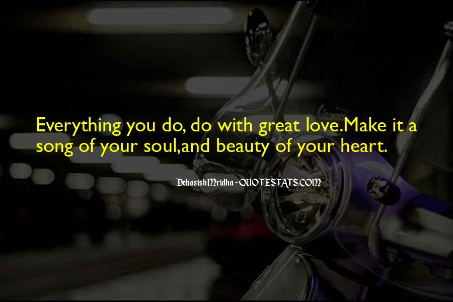 Quotes About Heart And Beauty #327175