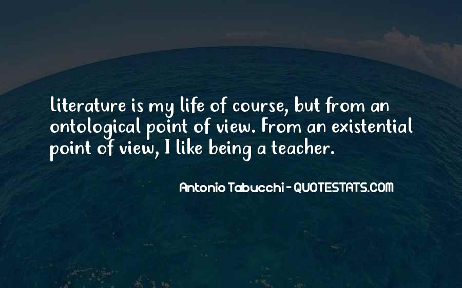 Quotes About Point Of View In Literature #1263821