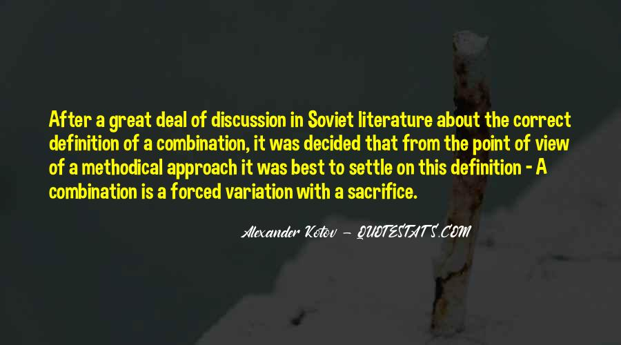 Quotes About Point Of View In Literature #13790