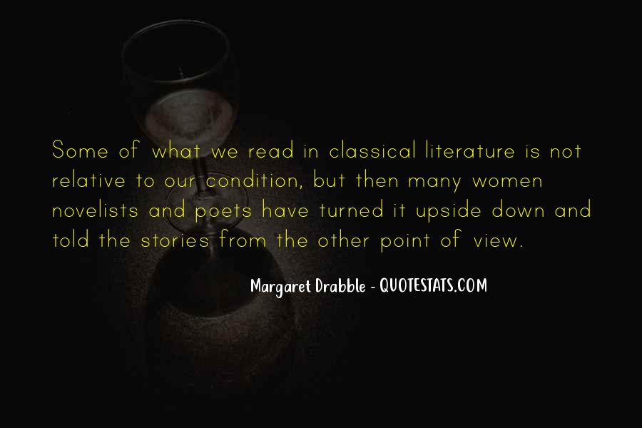 Quotes About Point Of View In Literature #493518