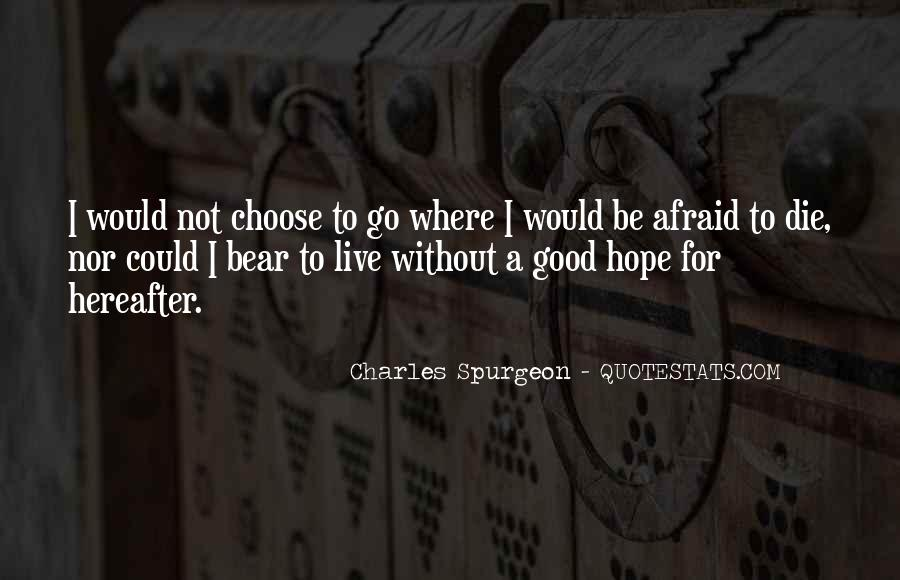 Quotes About Without Hope #104400