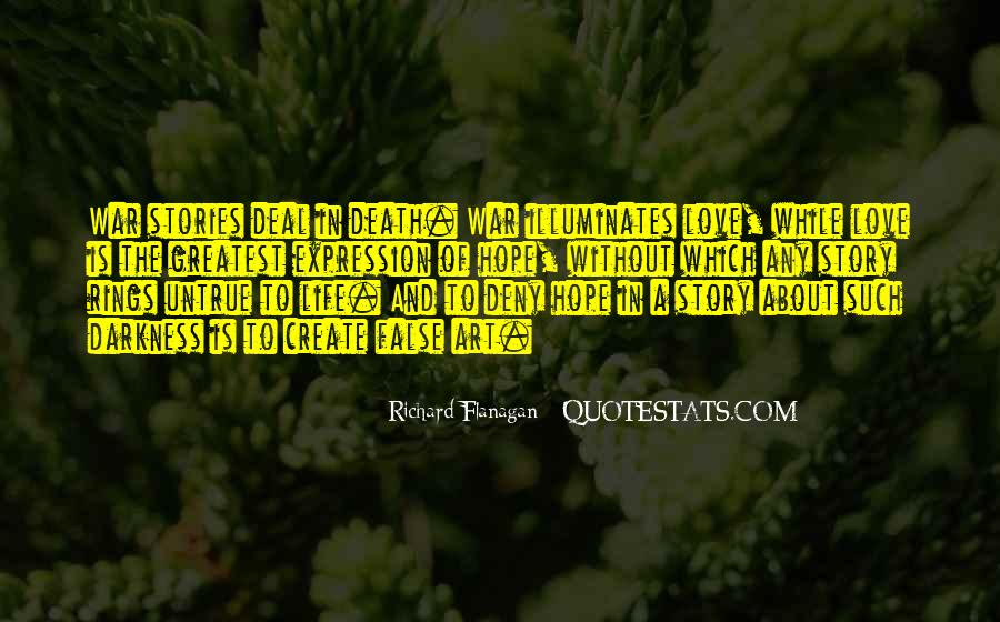 Quotes About Without Hope #182693