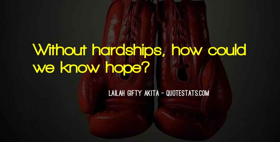 Quotes About Without Hope #201785