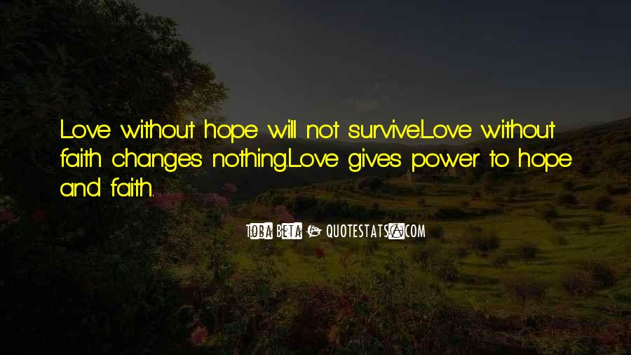 Quotes About Without Hope #248659