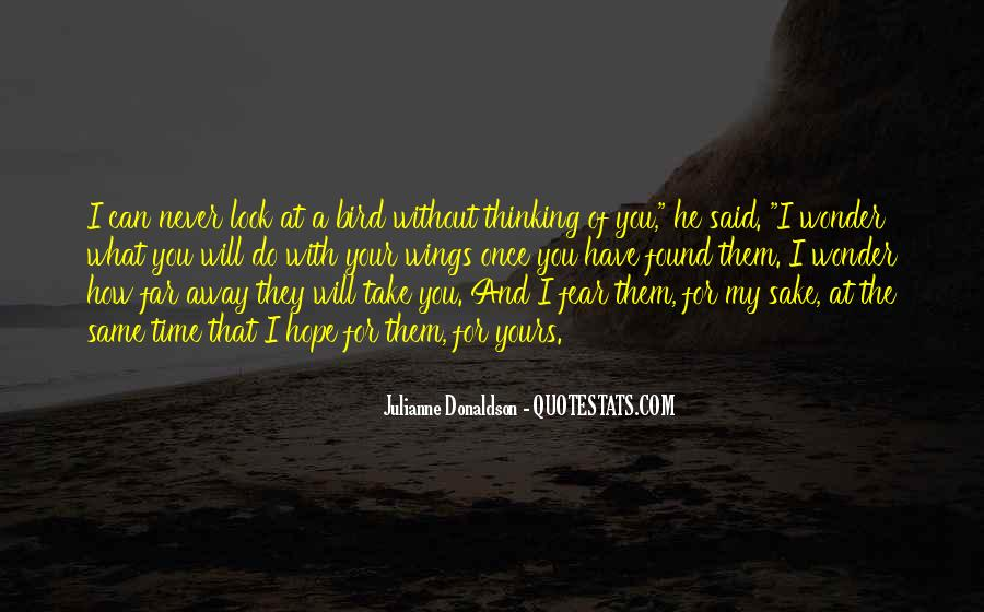 Quotes About Without Hope #36809