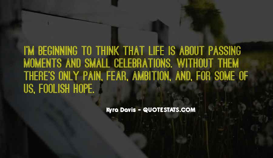 Quotes About Without Hope #75215