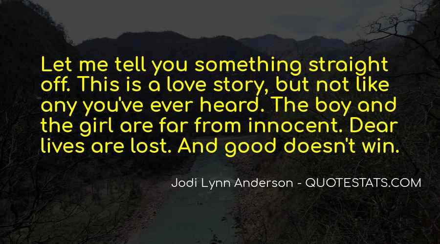 Quotes About Lost Girl #1200816