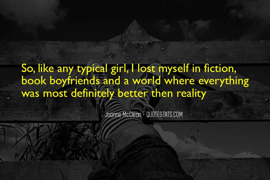 Quotes About Lost Girl #1282558