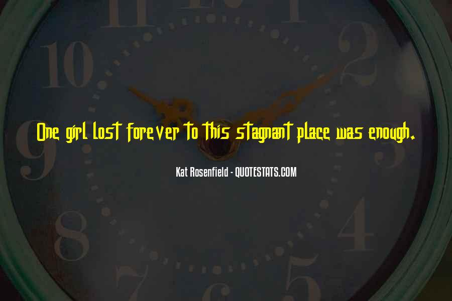 Quotes About Lost Girl #1513264