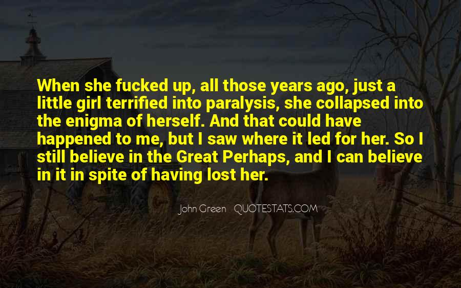 Quotes About Lost Girl #1515028