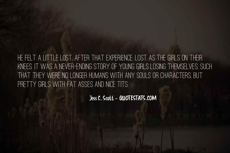 Quotes About Lost Girl #792567