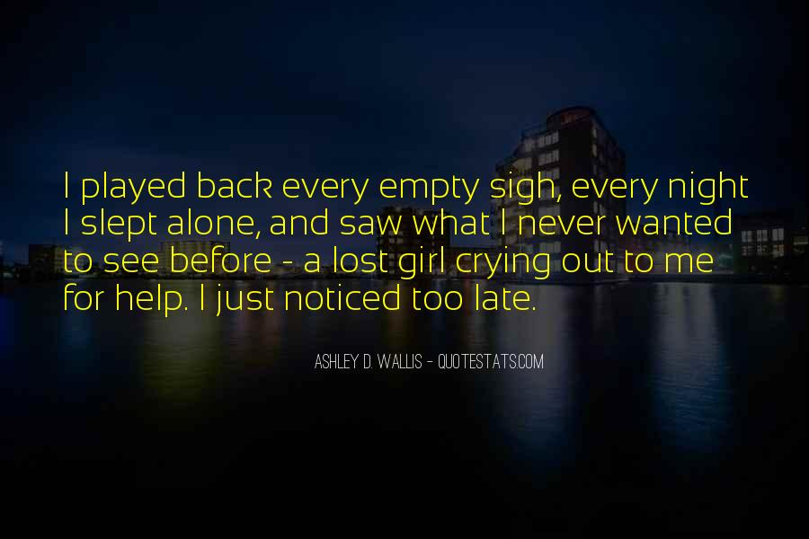 Quotes About Lost Girl #794692