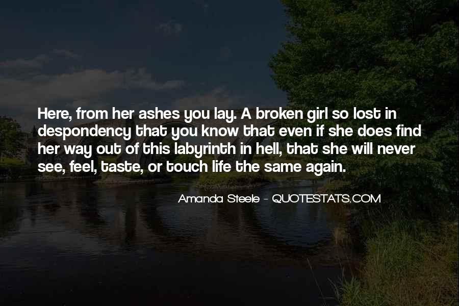 Quotes About Lost Girl #929687