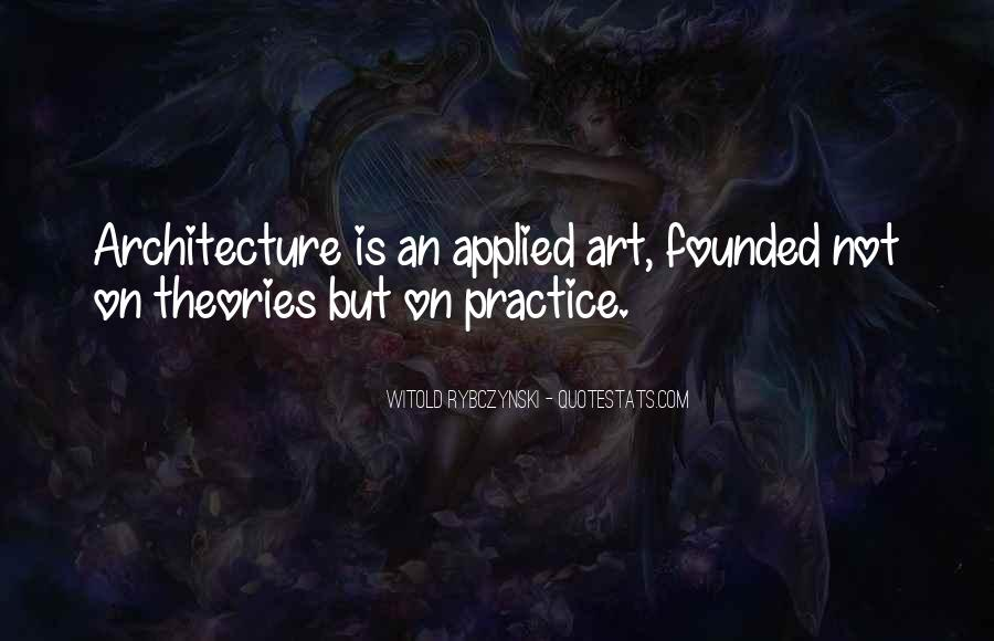 Quotes About Theories And Practice #1261846