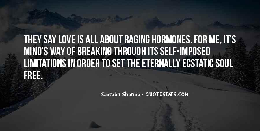 Quotes About Limitations In Love #1096259