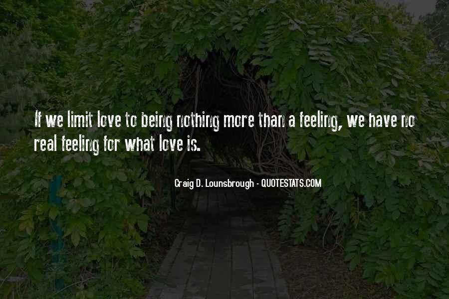 Quotes About Limitations In Love #1643185