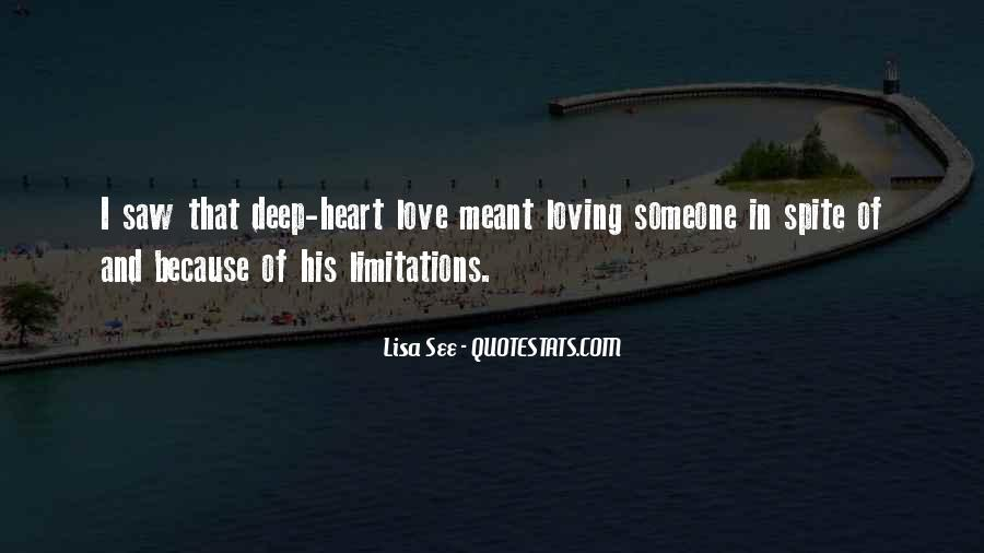 Quotes About Limitations In Love #654671