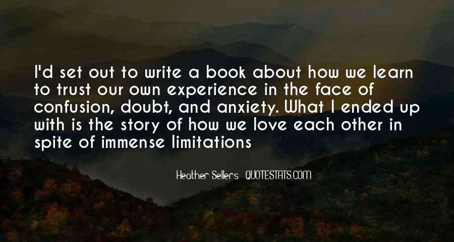 Quotes About Limitations In Love #670019