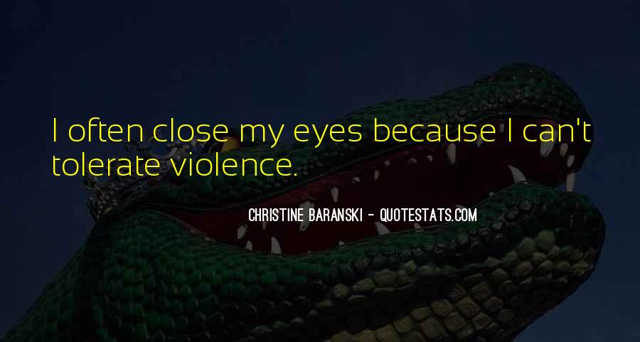 Quotes About Violence #1048
