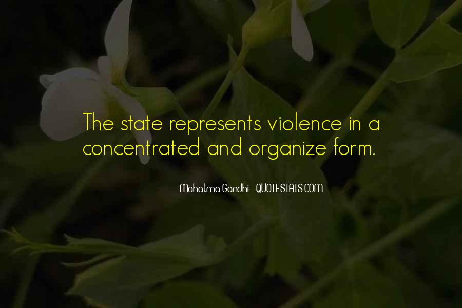 Quotes About Violence #11782