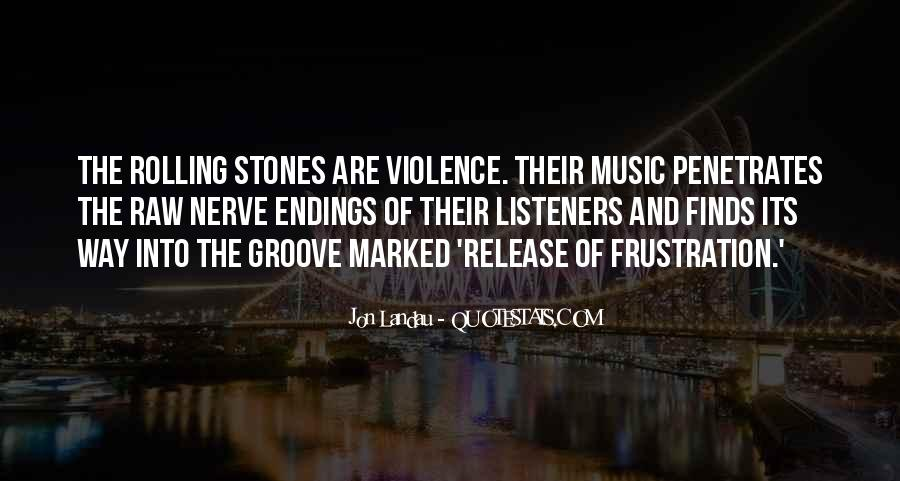 Quotes About Violence #15991
