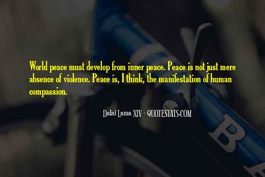Quotes About Violence #17914