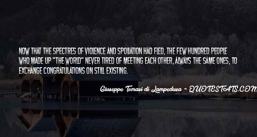Quotes About Violence #19635