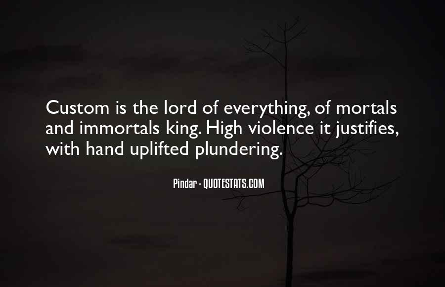 Quotes About Violence #20495