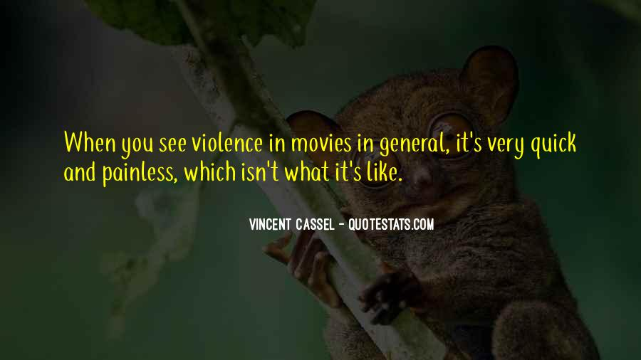 Quotes About Violence #22300