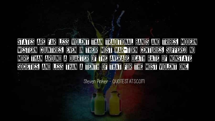 Quotes About Violence #23861