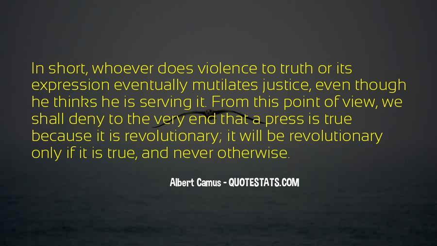 Quotes About Violence #24068