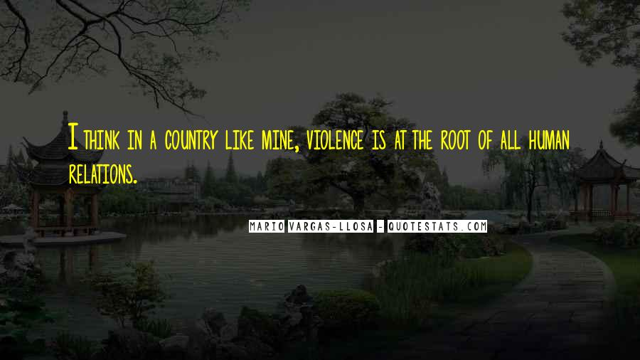 Quotes About Violence #24074