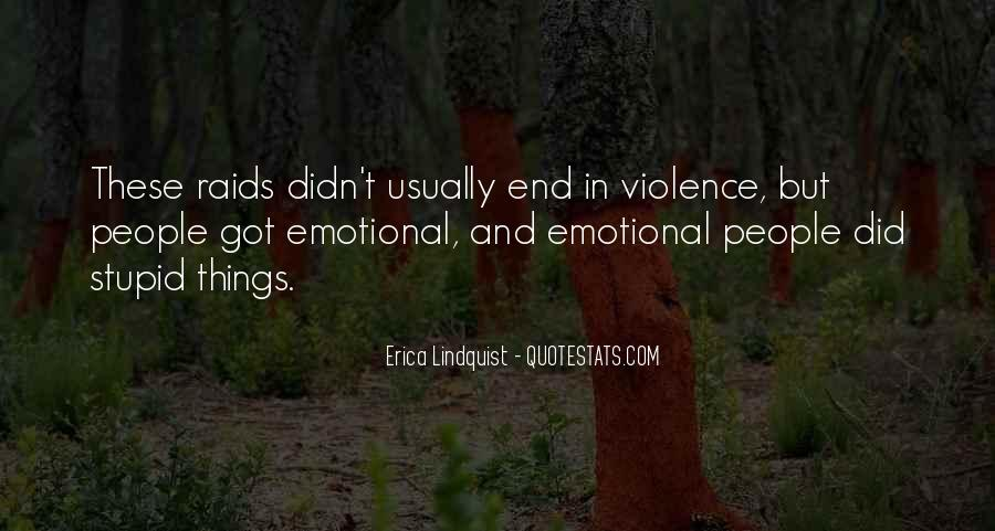 Quotes About Violence #31931