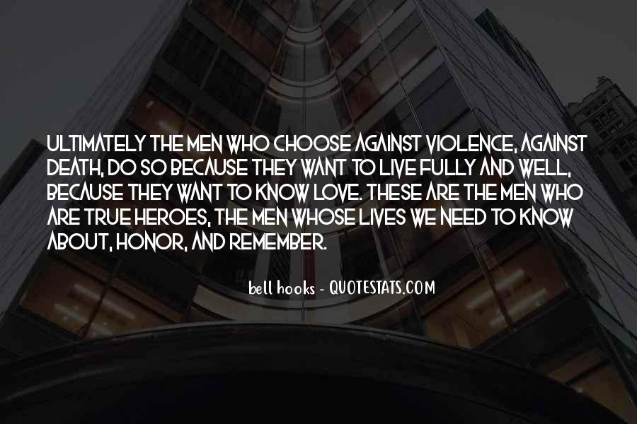 Quotes About Violence #36455