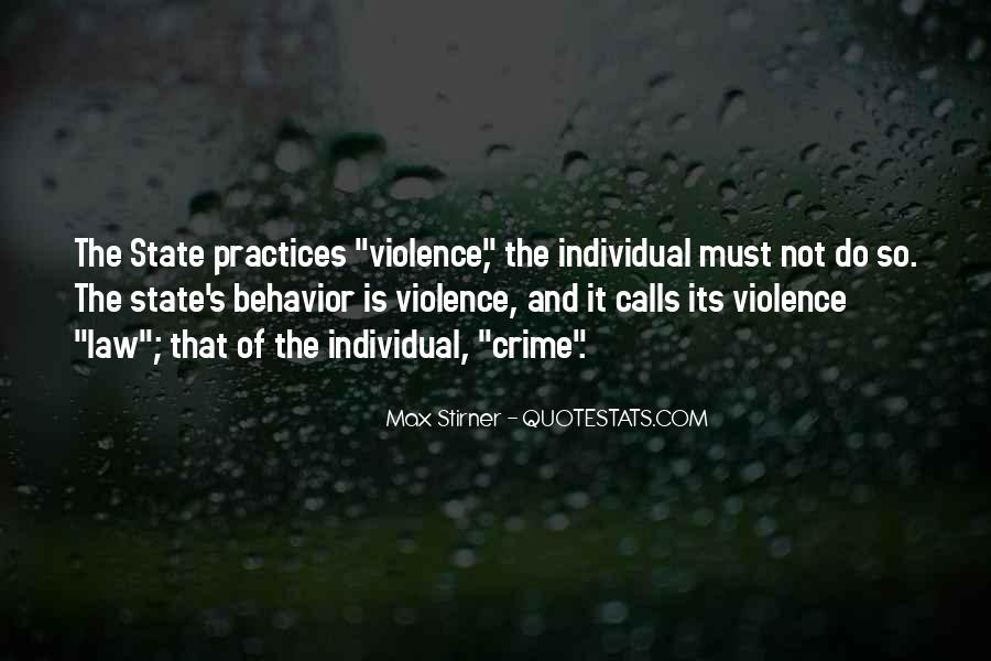 Quotes About Violence #7775