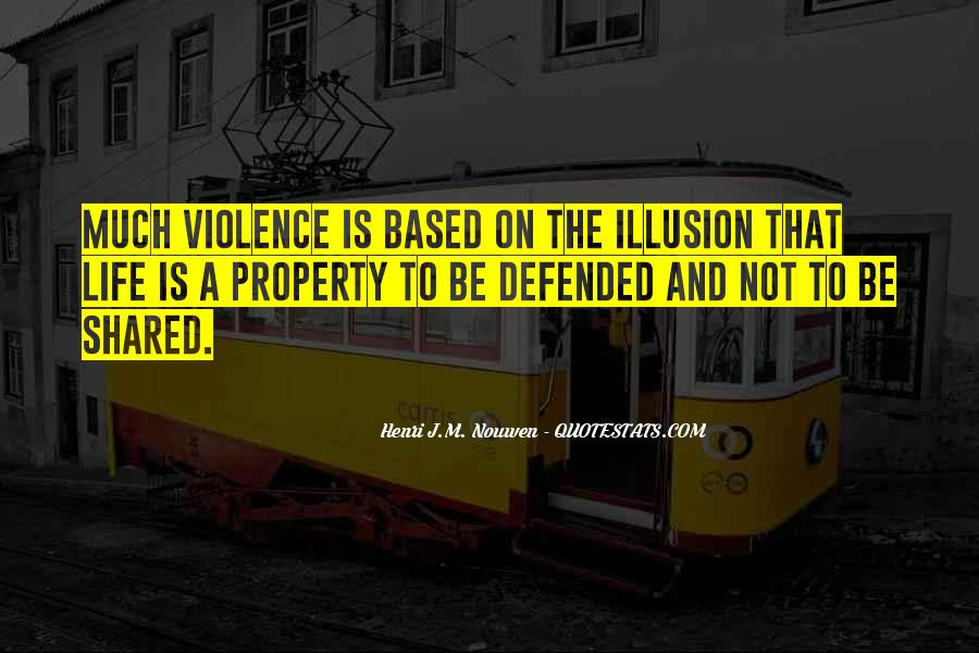 Quotes About Violence #9192