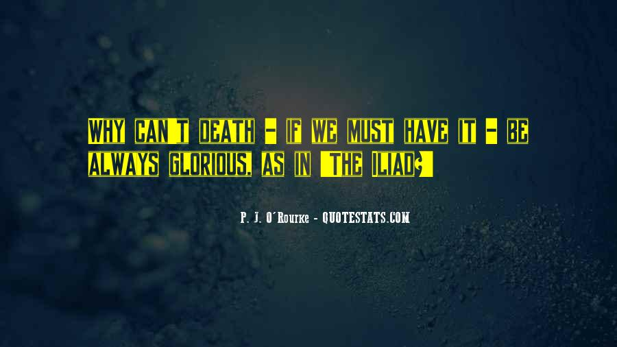 Quotes About Glorious Death #1521897