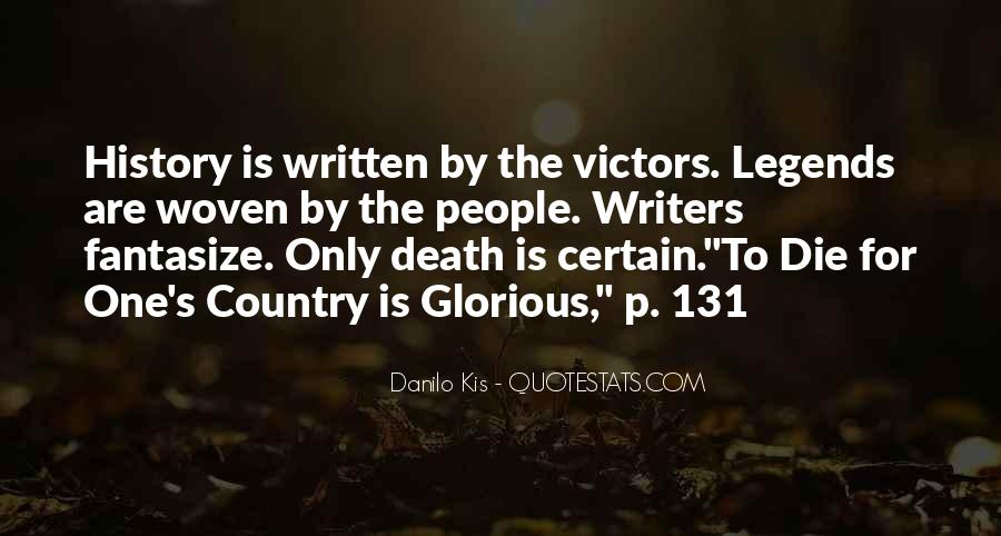 Quotes About Glorious Death #220522