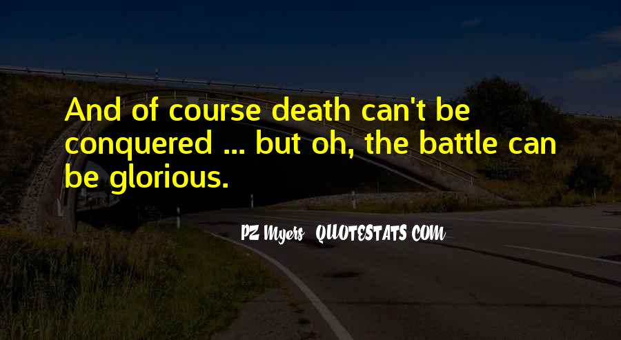 Quotes About Glorious Death #720427