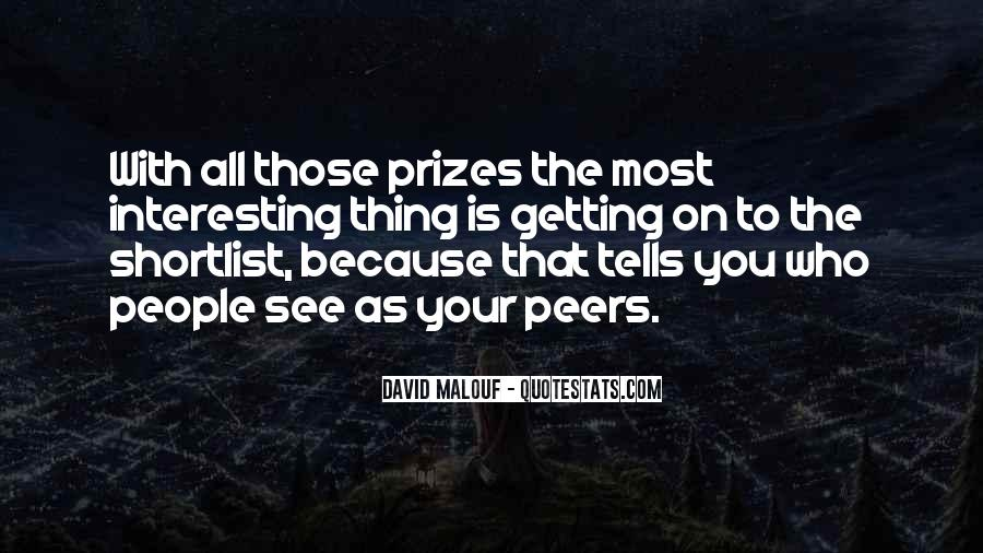 Quotes About Prizes #164882
