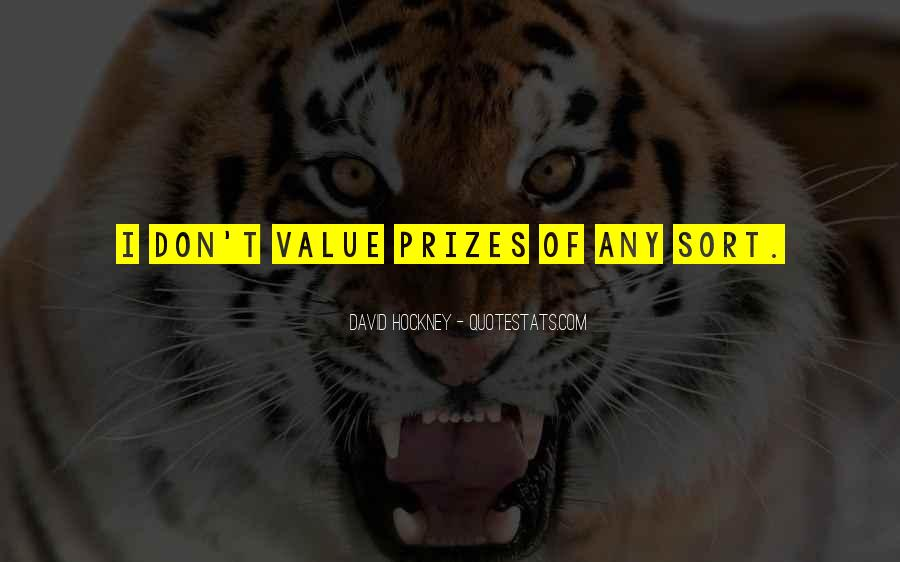 Quotes About Prizes #26491