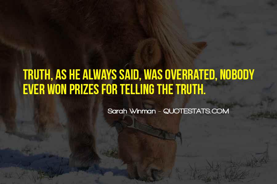 Quotes About Prizes #393915