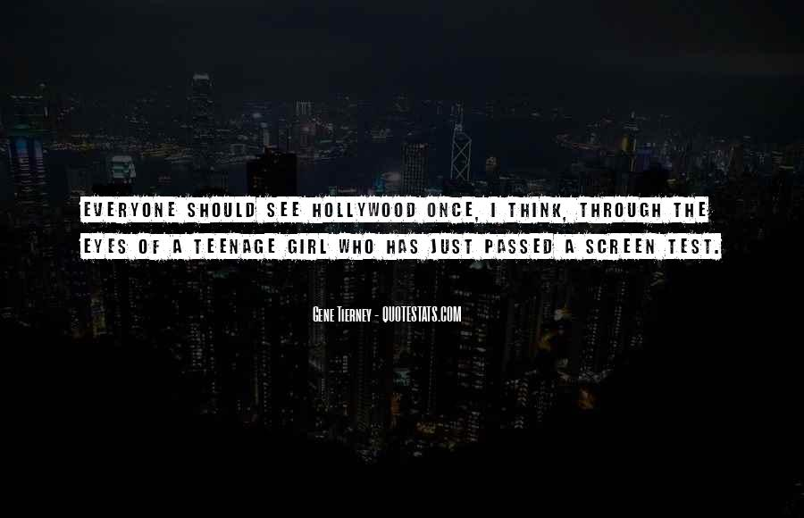 Quotes About A Teenage Girl #1037348