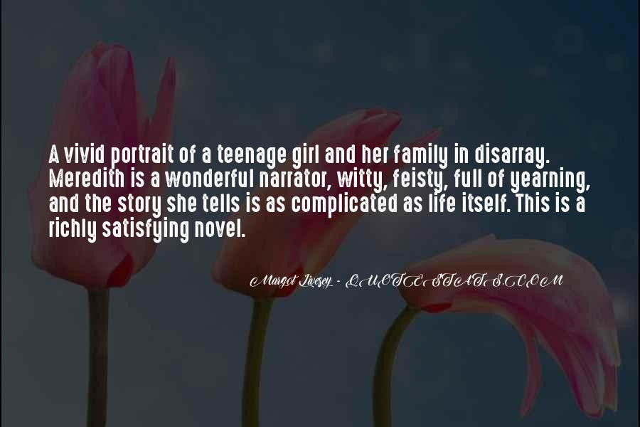 Quotes About A Teenage Girl #1214380